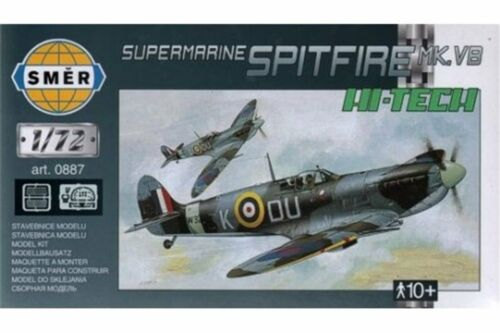 SMER 0887 1//72 Supermarine Spitfire Mk.VB With Etched
