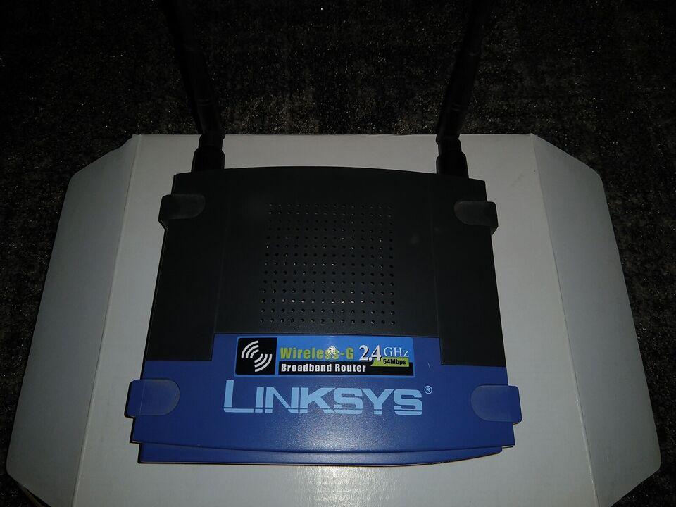Router, LINKSYS WRT54G, God