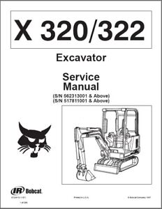 Bobcat-X320-X322-Compact-Excavator-Service-Manual-on-a-CD-X-320-322