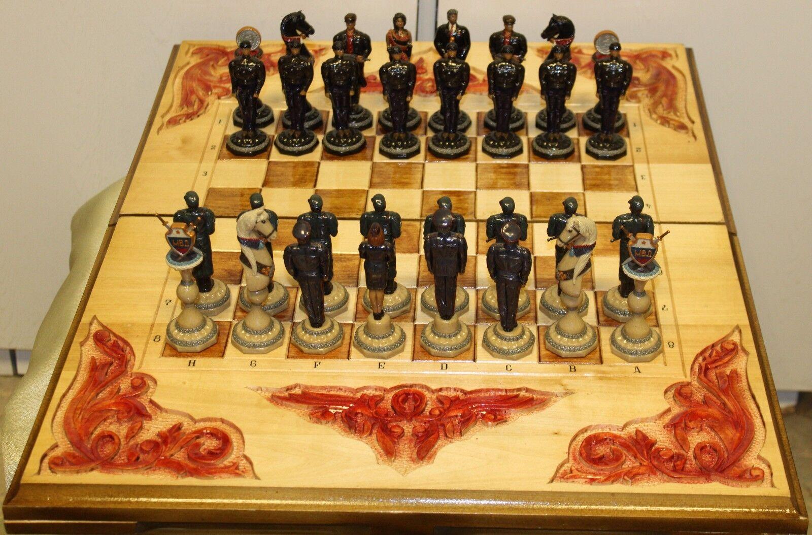 tomar hasta un 70% de descuento Juego de ajedrez ruso ruso ruso PAN № 2: guardias de presos Vs de celda.  ahorre 60% de descuento