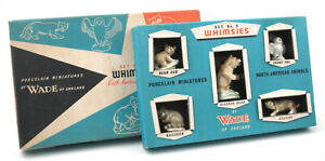 Wade-Early-First-Whimsies-Set-No-9-North-American-Animals-1958-1961-BOXED