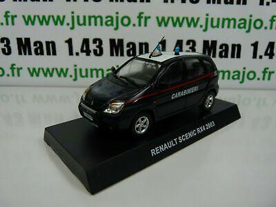 CR1H voiture 1//43 CARABINIERI RENAULT SCENIC RX4 2003