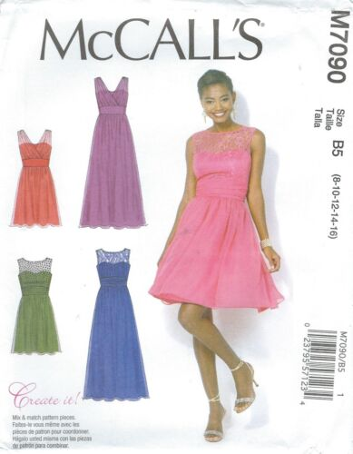 McCall/'s 7090 Misses/' and Women/'s/' Dresses     Sewing Pattern