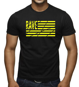 9644a072bf650d Men s Rave American Flag Black T Shirt Party Dance Music Spring ...