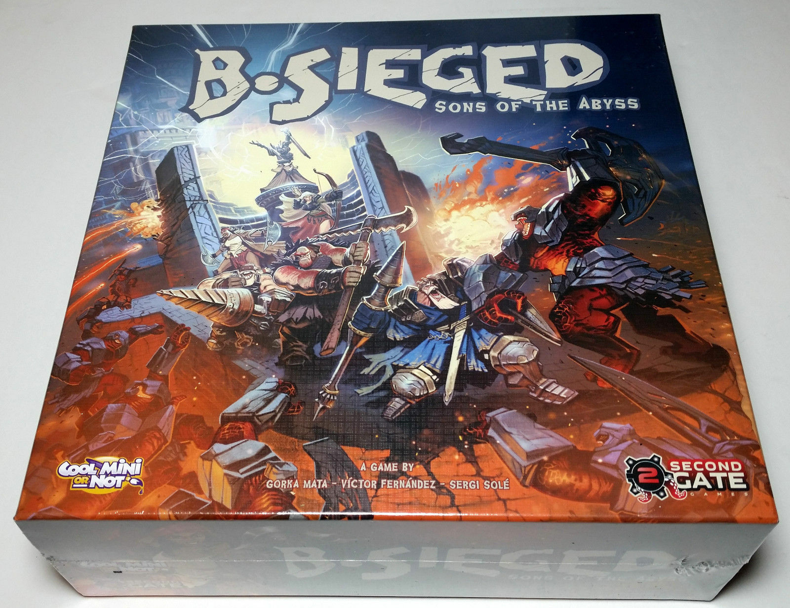 B-Sieged  Sons of the Abyss  (Cool Mini Or Not) SEALED