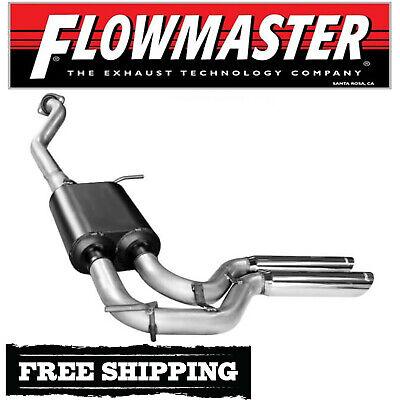 "99-06 Chevy Silverado Truck 3/"" Single Exhaust Kit Flowmaster 40 Series Muffler"