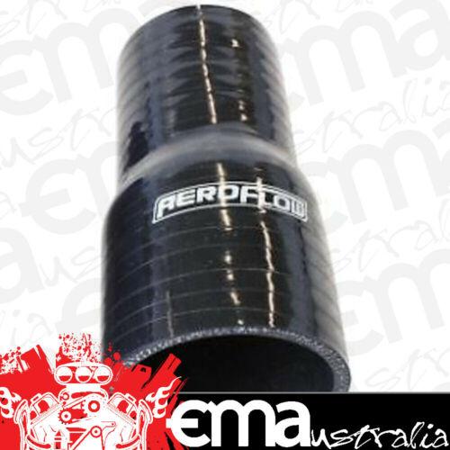 """Aeroflow AF9201-085-075 Silicone Hose Reducer Str Black I.D .85-.75/"""" 22-19mm 4.5"""