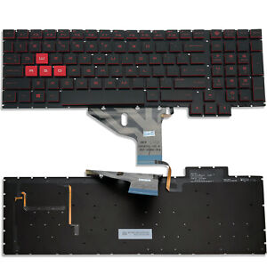 Original New for HP Omen 15-CE 15-CE000 15-CE010CA 15-CE020CA Keyboard US Backlit