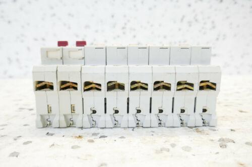 8x MOELLER FAZ L16A LEITUNGSSCHUTZSCHALTER set of 8