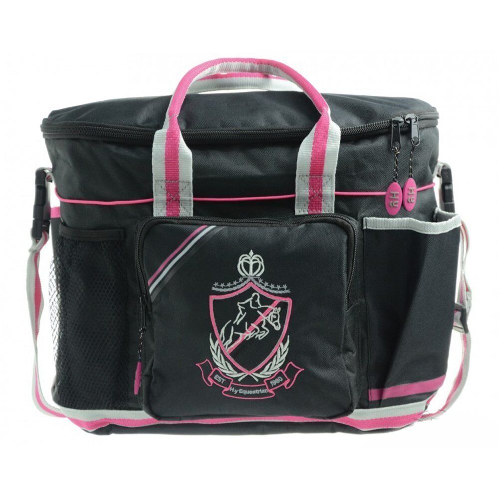 HYSHINE PRO COLOURS GROOMING BAG FOR EQUESTRIAN HORSES VARIOUS COLOURS PRO 8d6ebd