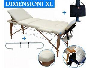 Dove Comprare Lettino Da Massaggio.Lettino Per Massaggi 3 Zone Panna Portarotolo Lettini Da