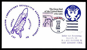 1984-DISCOVERY-STS-41D-LAUNCH-JET-PROPULSION-LABORATORY-SCIENCE-EXP-ESP-2920