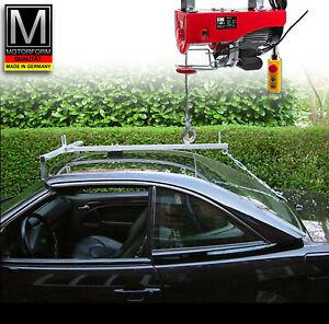 Mercedes SL R129 129 Hardtop Deckenlift Hoist mit elektrischer Seilwinde Lift