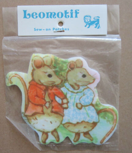 Mice Vintage Leomotif Cloth Sew On Patch Badge Crafting Sewing