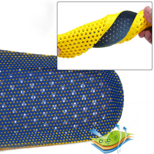 Stretch Breathable Deodorant Shoe Running Cushion Insoles Pad Sport Shoe Insert