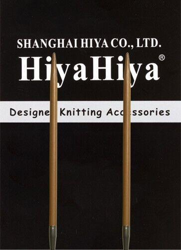 """HiyaHiya 60"""" Bamboo Circular Knitting Needles, Choose Size"""