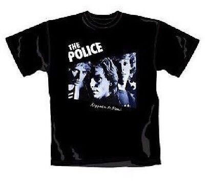 Kompetent The Police - Reggatta De Blanc - T-shirt - Schwarz - GrÖsse: M - Neu