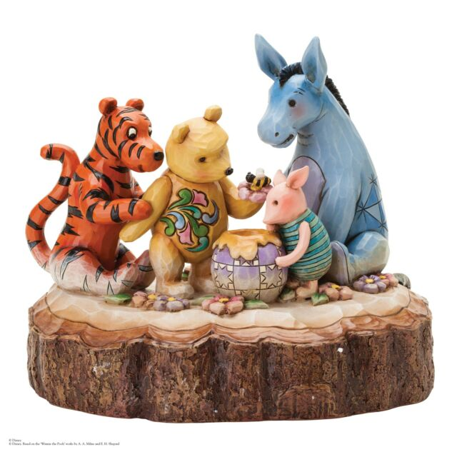 Disney Traditions Carved By Heart Classic Pooh By Jim Shore  21523