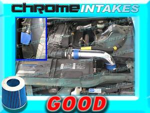 94-97 CHEVY CAMARO Z28 FORMULA TRANS AM V8 FULL COLD AIR INTAKE+K/&N Blue Red 3