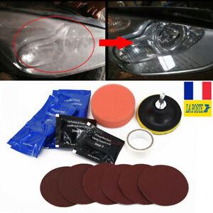 Voiture-Phare-Restauration-Kit-Restorer-Cleaner-Polisher-Outil-de-Reparation