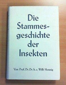 Die-Stammesgeschichte-der-Insekten-Willi-Hennig-Zustand-gut