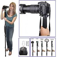 """Lightweight 67"""" Pro Camera Tripod Mono-pod For All DSLR Sony Canon Nikon Fuji"""