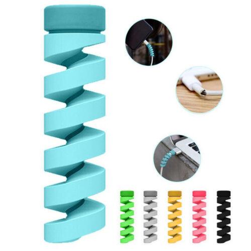 2erKabelschutz Handy Ladekabel AntiKabelbruch Protecter Knickschutz Kabelspirale