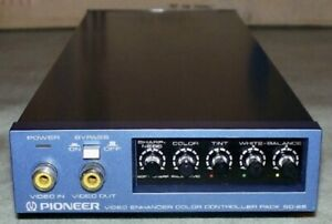 Pioneer-Video-Enhancer-Color-Controller-Pack-Modell-sd-e5-Top-Zustand