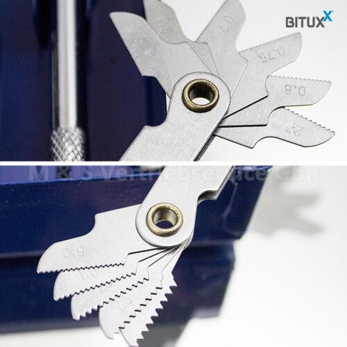 BITUXX® 32tlg Gewindeschneid Satz M3-M12 Gewindeschneider Gewindebohrer
