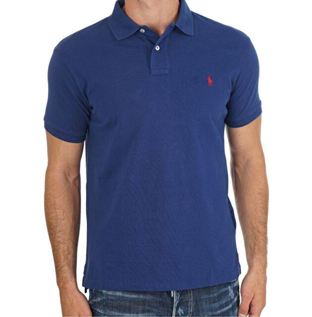 veleno Ispirare Risveglio  Ralph Lauren Mens Polo Shirt Big Size 1xb Navy Blue Red Pony Genuine for  sale online | eBay