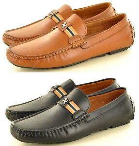 a46e3704049 Details about Mens Smart Slip on Casual Driving Loafers Shoes Moccasins In  Size 6 7 8 9 10 11