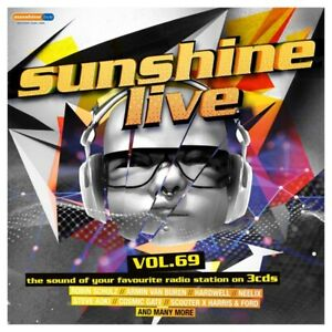 SUNSHINE-LIVE-69-3-CD-NEU