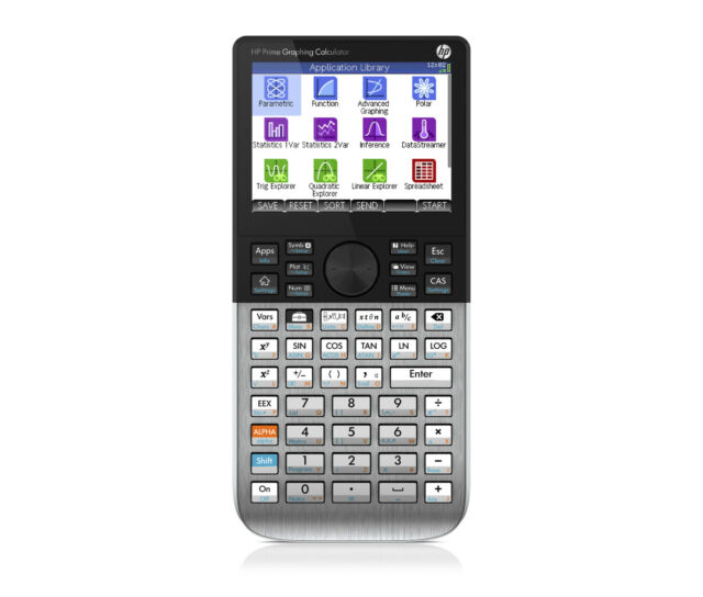 Hewlett Packard HP Prime Colour Screen CAS Graphic Calculator