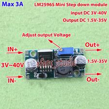 LM2596 DC-DC Buck Step Down Adjustable Converter 3-40V to 3.3V 5V 9V 12V 24V 3A