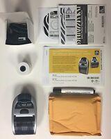 Brand Zebra Mz220 Mz 220 Pos Point Of Sale Thermal Portable Label Printer
