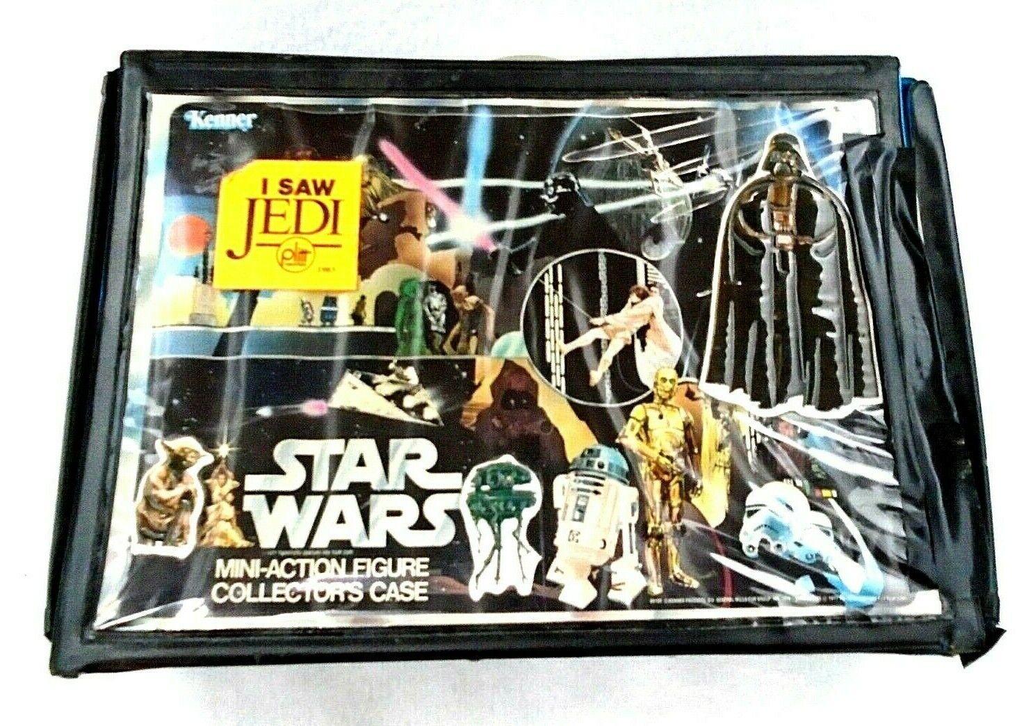 Estrella Wars 1978 Kenner Mini Figuras de acción en el caso de colector