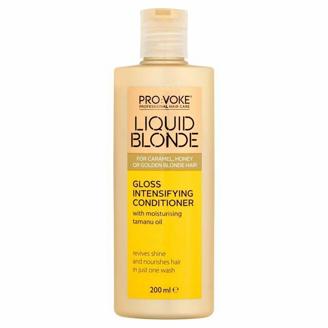Provoke Liquid Blonde Gloss INTENSIFYING Nourishing Conditioner 200m