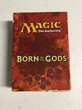 1 Empty Fat Pack Box Magic the Gathering MTG FTG BORN OF THE GODS NM//SP