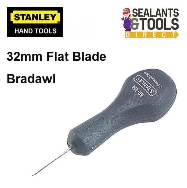 Stanley Professional Quality Carpenters Flat Blade Bradawl awl pilot