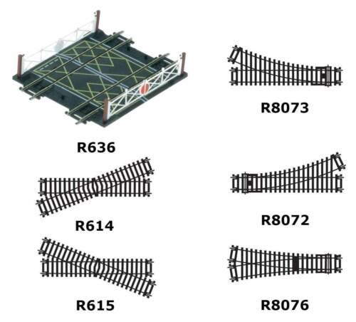 Hornby OO Gauge Model Railway Tracks Range of Types