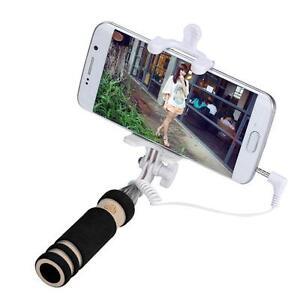 mini handheld selfie stick monopod camera for samsung galaxy s7 edge smartphone. Black Bedroom Furniture Sets. Home Design Ideas