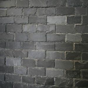 """GREY GEHÄMMERT"", 30x10x1cm, Z-stone, Wandverblender, Wandverkleidung"