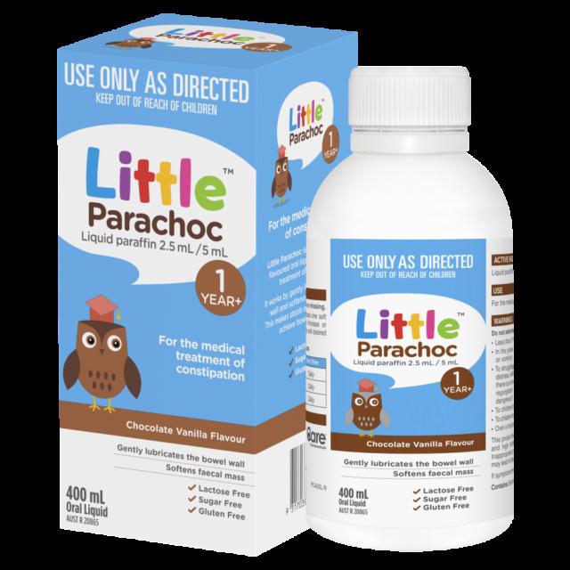 Little Parachoc 400mL Oral Liquid - Chocolate Vanilla Flavour Treatment 1 Year+
