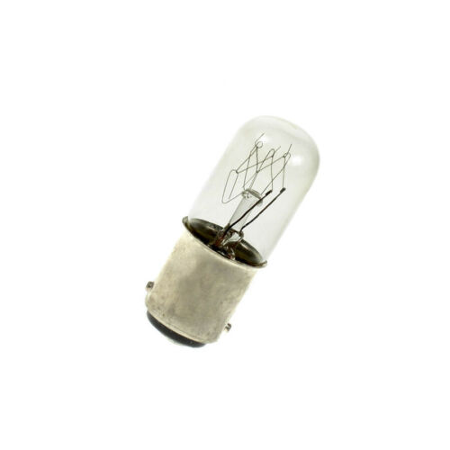 16mm x 45mm BA15D SBC Small Lamp Light Bulbs Pack of 5