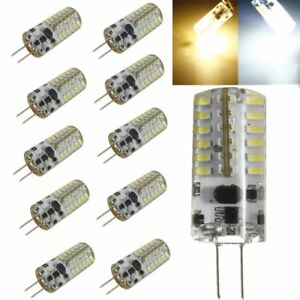 5x-G4-LED-48-SMD-3014-Corn-Light-Lamp-Bulb-3W-Silicone-Crystal-Halogen