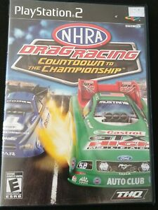 NHRA-Drag-Racing-Countdown-to-the-Championship-Playstation-2-Ps2-Complete-Tested