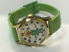 Vintage DIANTUS Girl Watch Rubber Band Swiss Made#(DG-296)