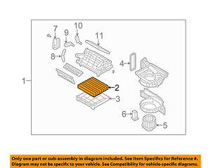 Details About Hyundai Oem 07 09 Sonata Cabin Air Filter 087902g000a