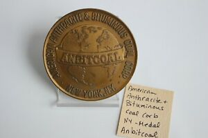 Anbitcoal-7-6cm-Medalla-American-Antracita-y-Bituminous-Carbon-Corp-Bronce-Laton