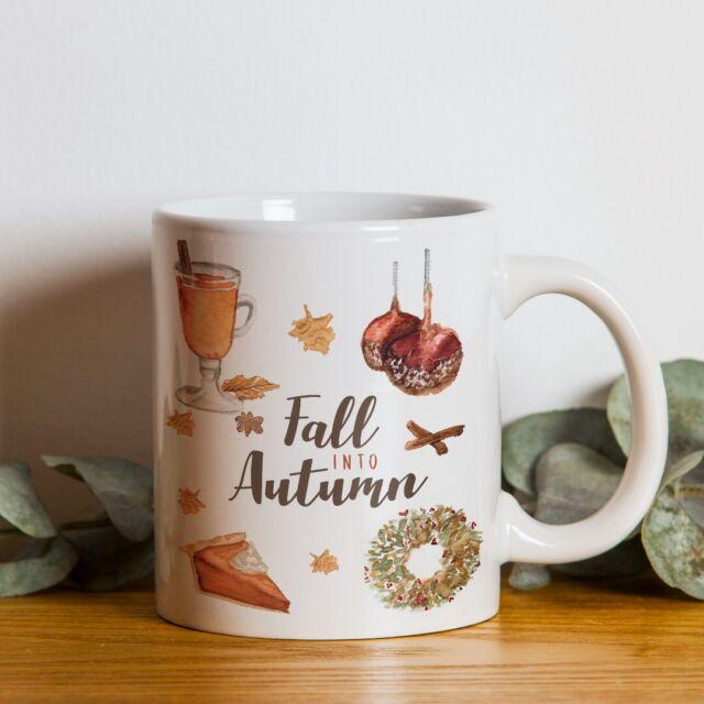Fall Into Autumn Coffee Mug 11oz Ebay